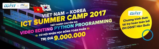 Chương trình hợp tác quốc tế Việt Nam – Hàn Quốc đào tạo Video Editing và Python Programming - Ảnh 1.