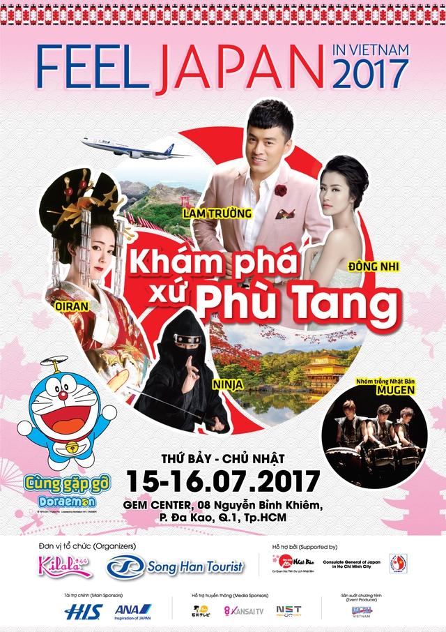 Gặp gỡ Doraemon, Ninja hàng thật tại lễ hội feel Japan in Vietnam 2017 - Ảnh 1.
