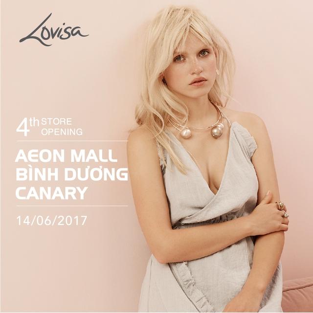 Phụ kiện Lovisa chính thức khai trương cửa hàng thứ 4 tại Aeon Mall Bình Dương - Ảnh 1.
