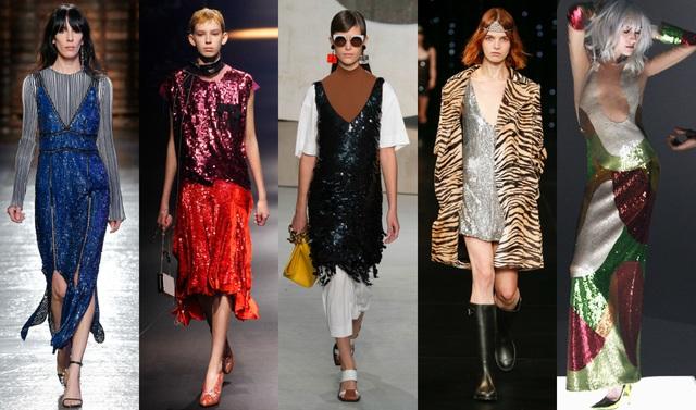 """Tông màu ánh kim """"phủ sóng"""" khắp sàn diễn thời trang và các sản phẩm làm đẹp - Ảnh 2."""