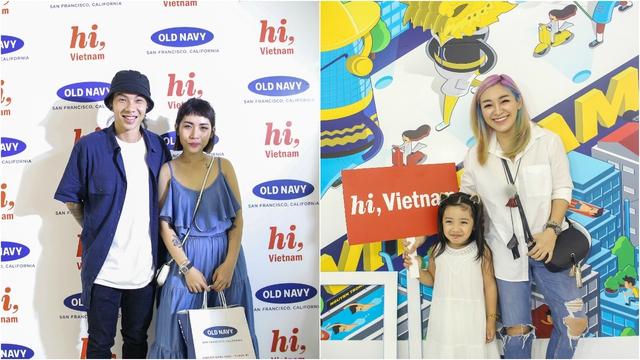 Minh Hằng nổi bật ngày khai trương cửa hàng Old Navy đầu tiên tại Việt Nam - Ảnh 3.