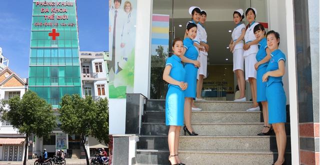Phòng khám Đa khoa Thế giới - Địa chỉ nam khoa chữa bệnh thầm kín - Ảnh 1.