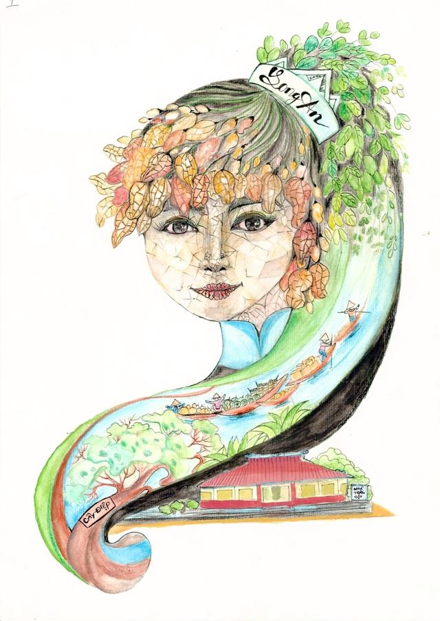 Lại có thêm bộ ảnh vẽ Việt Nam đẹp đến mê mệt - Ảnh 1.