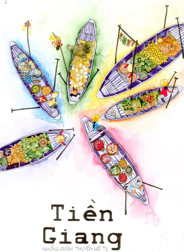 Lại có thêm bộ ảnh vẽ Việt Nam đẹp đến mê mệt - Ảnh 4.