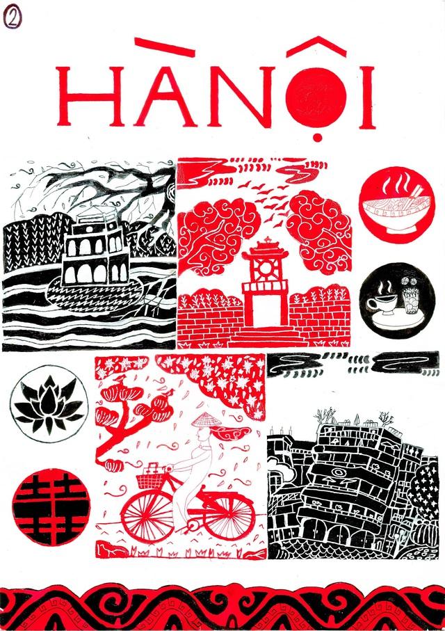 Lại có thêm bộ ảnh vẽ Việt Nam đẹp đến mê mệt - Ảnh 7.