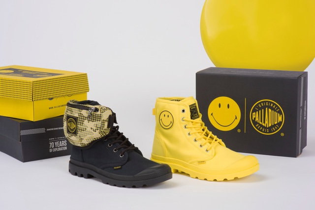 Palladium và Smiley tung BST giày cực cool nhân dịp lần đầu kết hợp - Ảnh 3.