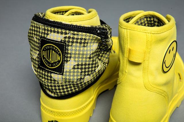 Palladium và Smiley tung BST giày cực cool nhân dịp lần đầu kết hợp - Ảnh 4.