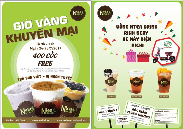Đến Ntea Drink, uống trà sữa chuẩn vị Việt, rinh giải thưởng siêu hấp dẫn - Ảnh 2.