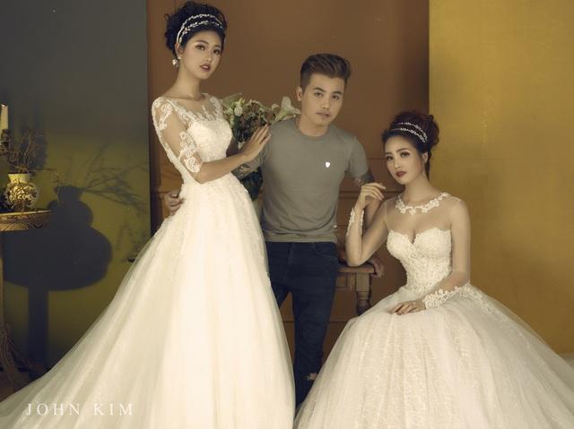 Á hậu Thanh Tú, Thụy Vân lạc vào xứ sở thần tiên với BST váy cưới cổ tích tuyệt đẹp - Ảnh 15.