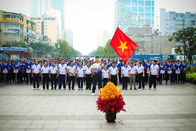 Đoàn TTVN chính thức làm Lễ xuất quân tham dự SEA Games 29 - Ảnh 2.