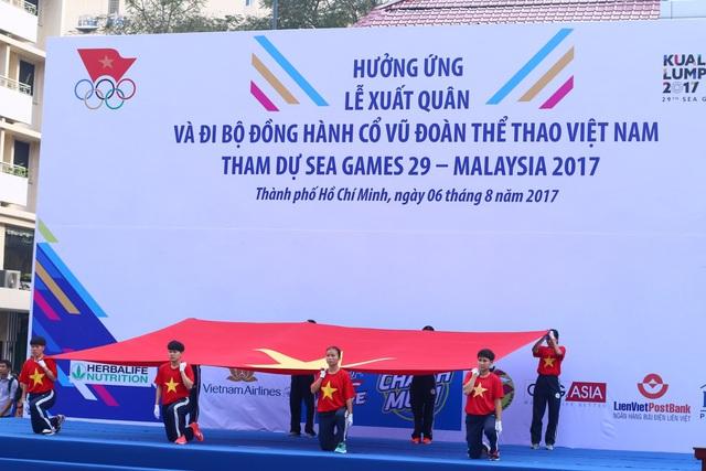 Đoàn TTVN chính thức làm Lễ xuất quân tham dự SEA Games 29 - Ảnh 3.