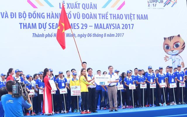 Đoàn TTVN chính thức làm Lễ xuất quân tham dự SEA Games 29 - Ảnh 5.