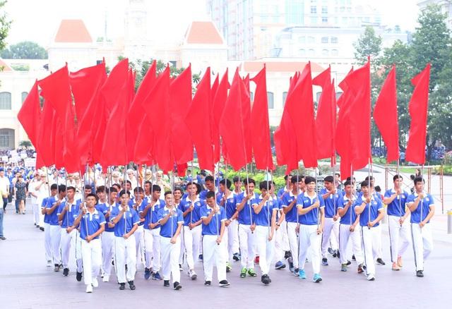 Đoàn TTVN chính thức làm Lễ xuất quân tham dự SEA Games 29 - Ảnh 8.