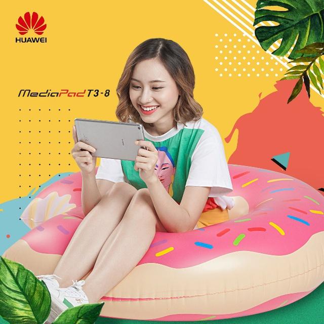4 lý do sinh viên nên chọn mua máy tính bảng Huawei Mediapad T3 8.0 cho năm học mới - Ảnh 1.