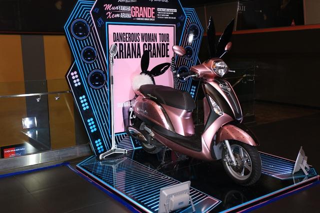 Săn hàng hiệu giá rẻ và ẵm xe tay ga Yamaha Grande thời trang tại City Sale 2017 - Ảnh 2.