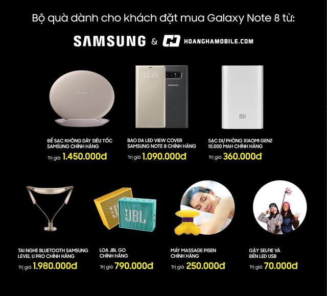 Lượng khách đặt hàng Galaxy Note 8 tăng vọt, ưu đãi nào làm vừa lòng tất cả? - Ảnh 2.