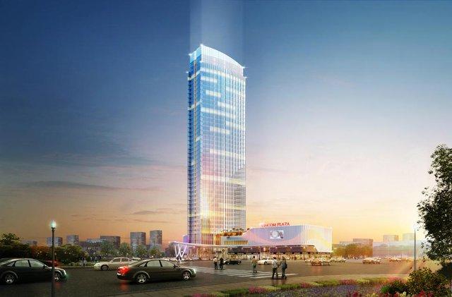 Tòa tháp khách sạn 45 tầng được kỳ vọng sẽ trở thành biểu tượng mới của thành phố Hải Phòng.
