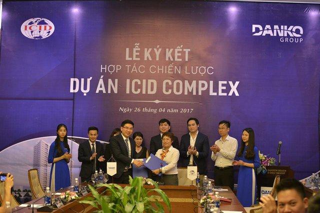 Danko Group và ICID ký kết hợp tác chiến lược tại dự án ICID Complex.