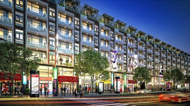 Liền kề FLC Sầm Sơn được quy hoạch trở thành các phố thương mại sầm uất.