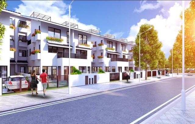 Biệt thự song lập Iris Homes có thiết kế ưu việt giúp tận dụng ánh sáng và không khí tự nhiên.