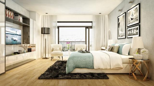 Nội thất của căn hộ GoldSeason được thiết kế hiện đại, tràn ngập ánh sáng thiên nhiên, phù hợp với yêu cầu của các khách hàng khó tính.