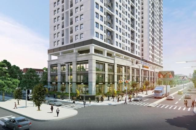 Shophouse thông tầng ICID Complex mang đến vẻ đẹp kiến trúc năng động và hiện đại.