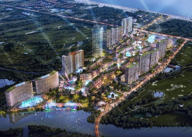 Khu công trình du lịch vui chơi cấp cao bậc nhất Đông Nam Á – Cocobay sẽ khai trương GĐ 1 vào tháng 7.