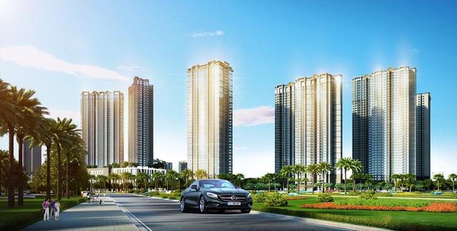 Sở hữu căn hộ cao tầng D'.Capitale, trúng siêu xe hãng xe Mercedes.