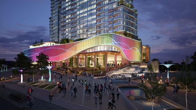 Phối cảnh dự án Coco Ocean-Spa Resort.