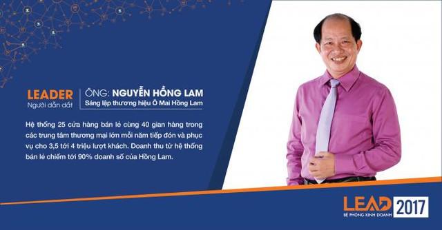 2. Ông Nguyễn Hồng Lam – Sáng lập thương hiệu Ô Mai Hồng Lam.