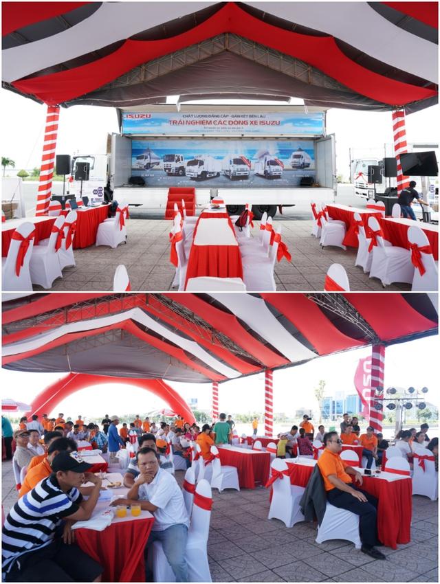 Ngày 4 và 5/8, hãng Isuzu chính thức tổ chức sự kiện ở Quảng trường Trần Quang Khải, Thành phố Rạch Giá, Kiên Giang.