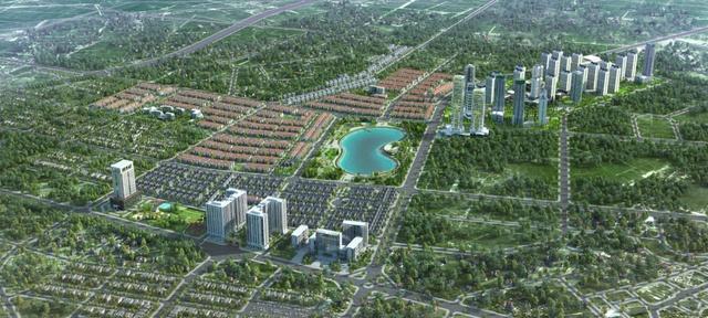 An Khang Villa tọa lạc ở địa điểm đẹp nhất trong khu dân cư Dương Nội.