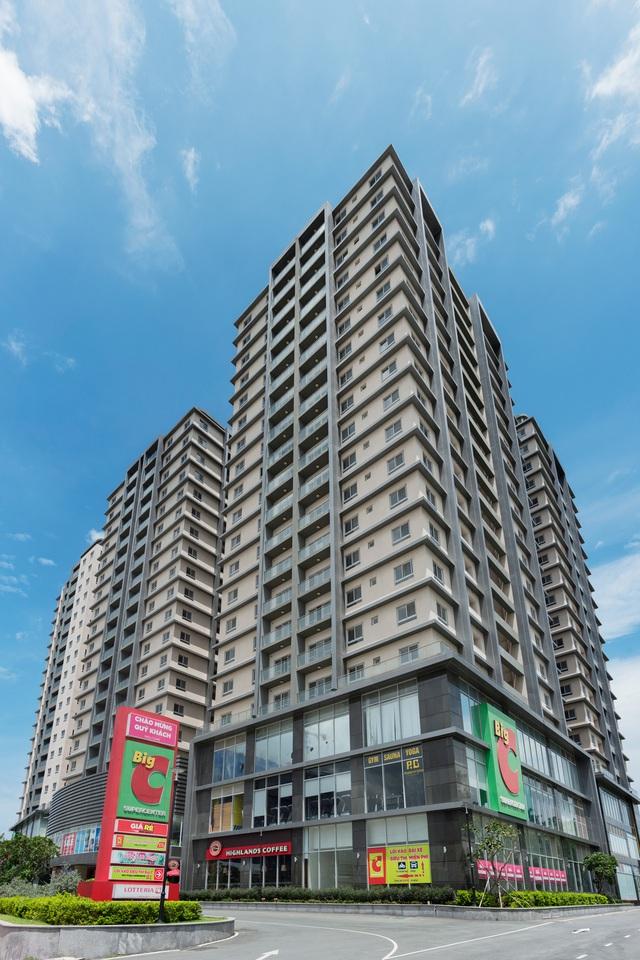 COSMO City là căn hộ cao tầng cấp cao trong khu vực xây đã đi vào vận hành mới mở phân phối.