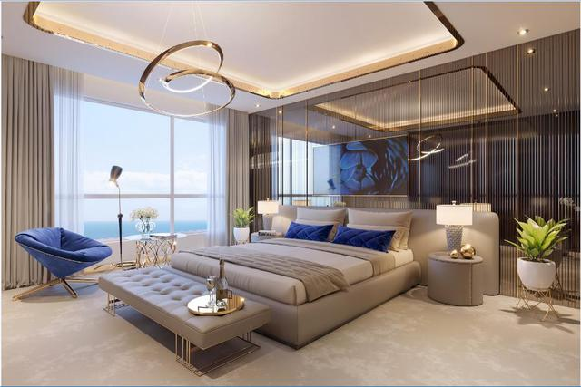 Phối cảnh phòng ngủ dự án The Sapphire Residence – Hạ Long.