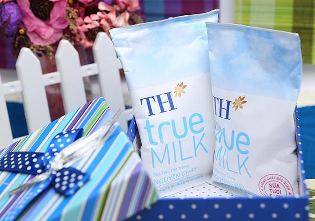 TH true Milk là thương hiệu ghi rõ nguyên liệu, lý do xuất xứ nguyên liệu trên bao bì.