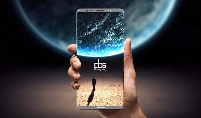 Galaxy Note 8 có màn hình kích cỡ lớn cho người dùng 1 số trải nghiệm tốt nhất.