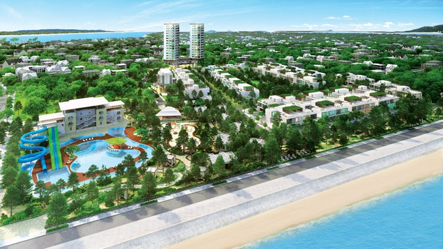 Khu nghỉ dưỡng biệt lập Thứ nhất ở Long Hải đang hút đại gia tìm về định cư.