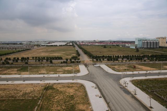 Dự án đang được triển khai hạ tầng đồng bộ.