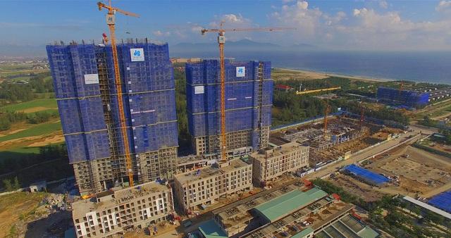 Coco Ocean Resort và Coco Skyline Resort đã cất nóc, dự kiến sẽ mở cửa đón khách vào tháng 4/2018.