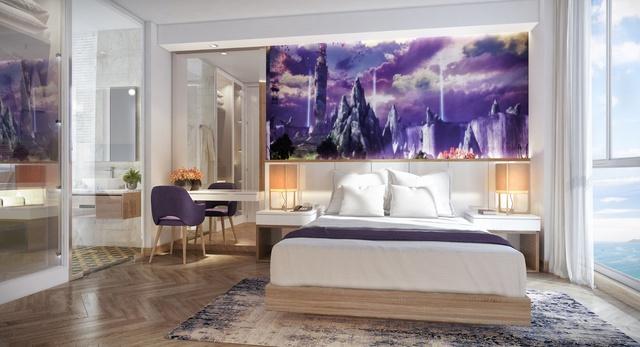 """Phối cảnh nội thất tòa Condotel cổ tích Coco Wonderland Resort đang """"dậy sóng"""" thị trường đầu tư."""