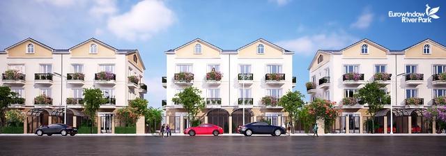 nhà phố thường được bố trí ở 1 vài khu chung cư hoặc khu thành thị cấp cao.