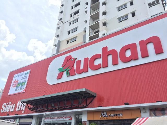 Top 3 trung tâm mua sắm danh tiếng châu Âu – Auchan ở TNR GoldSilk Complex đã đi vào làm việc, phục vụ cư dân.
