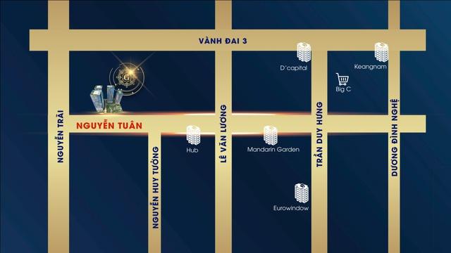 5 Seasons nắm giữ vị trí kết nối hạ tầng bậc nhất tại Thanh Xuân.