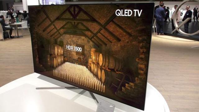 Chiếc TV QLED đầy tinh xảo, sắc nét của Samsung Electronics.
