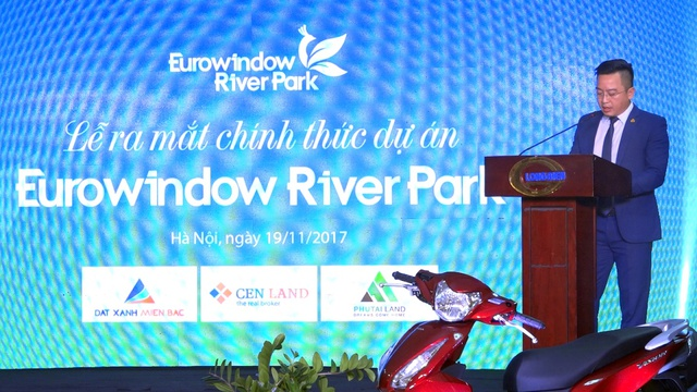 Ông Vương Đình Hoài – GĐ Công ty TNHH Thăng Long – Đại diện CDT dự án Eurowindow River Park.