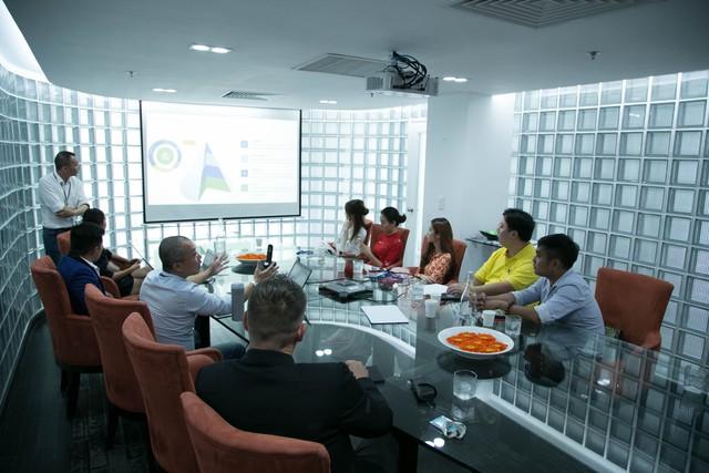 Buổi giới thiệu về kế hoạch phát triền của quỹ GMM tại Việt Nam và Đông Nam Á 2018-2010.