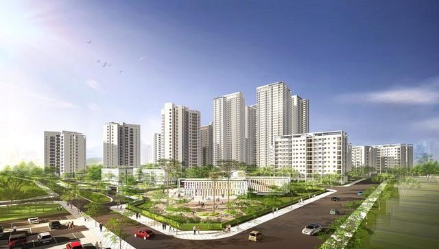 KĐT Hồng Hà Eco City được ví như Ecopark trong lòng Hà Nội.