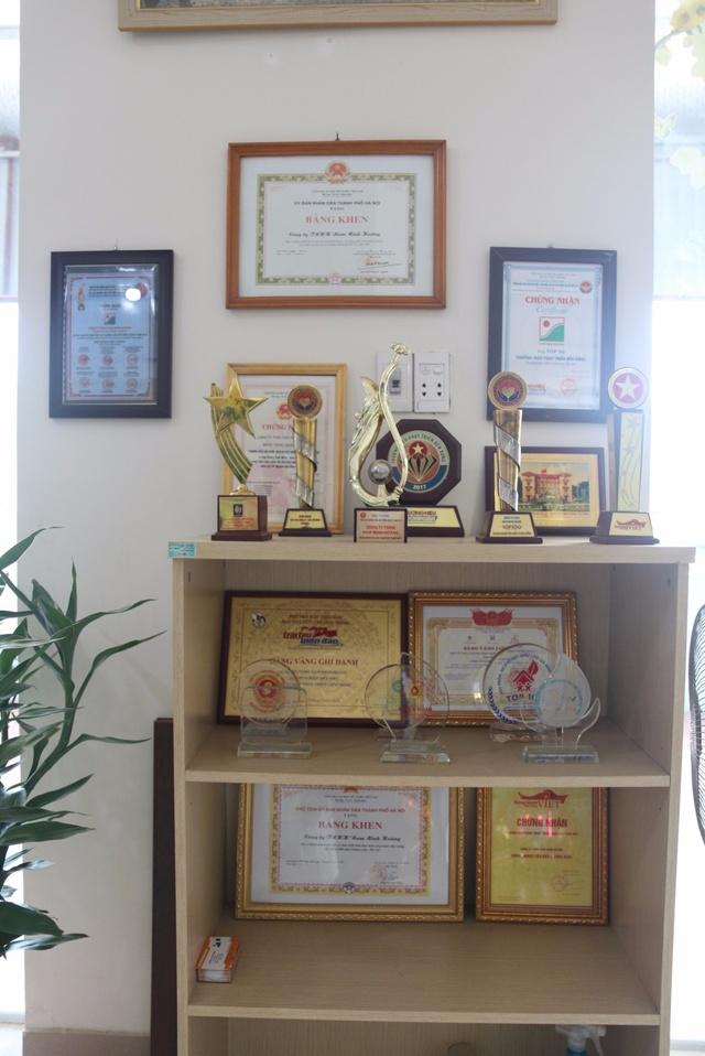 Thành tựu của Công ty TNHH Nam Minh Hoàng.