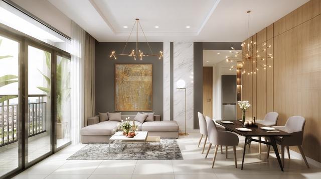 Các căn hộ tại dự án được thiết kế thông minh và tinh tế.