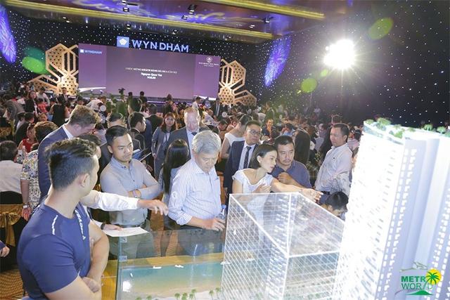 Rất đông khách hàng đã đặt mua condotel Beau Rivage Nha Trang trong Lễ ra mắt và sản phẩm này đang tiếp tục tạo nên sức hút lớn.